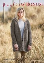 Hayfield Bonus Super Chunky Knitting Pattern - 10002 Coatigan